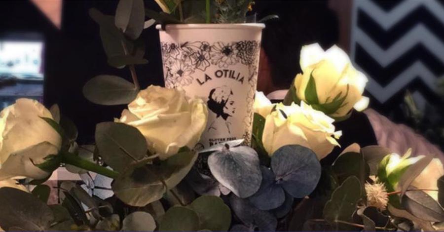 Arreglo floral para fiesta de aniversario en La Otilia