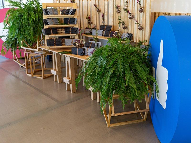 Muebles para desayuno de Facebook Adweek Latam