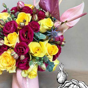 Arreglo floral para casa